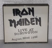 Iron Maiden: Live at Donington - August 22nd 1992 - CD Album - 2 Discs